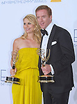 """CLAIRE DAINES(Best Actress) and DAMIAN LEWIS(Best Actor) - 64TH PRIME TIME EMMY AWARDS.Nokia Theatre Live, Los Angelees_23/09/2012.Mandatory Credit Photo: ©Dias/NEWSPIX INTERNATIONAL..**ALL FEES PAYABLE TO: """"NEWSPIX INTERNATIONAL""""**..IMMEDIATE CONFIRMATION OF USAGE REQUIRED:.Newspix International, 31 Chinnery Hill, Bishop's Stortford, ENGLAND CM23 3PS.Tel:+441279 324672  ; Fax: +441279656877.Mobile:  07775681153.e-mail: info@newspixinternational.co.uk"""