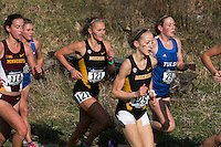 Mizzou junior Jamie Kempfer (125) and senior Teylar Adelsberger (121) run to All-Region finishes while helping the Tigers to the team victory at the NCAA Division I Cross Country Midwest Regional in Iowa City, Ia. Friday November 11, 2016. Kempfer was fiifth, finishing the 6-kilometer race in 20:17, while Adelsberger was 21st in 20:45, to earn All-Region honors which went to the top-25 finishers.