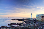 Portsmouth Harbor Light in New Castle, NH, USA