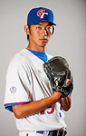 Wang, I-Cheng of Team Chinese Taipei poses during WBC Photo Day on February 25, 2013 in Taichung, Taiwan. Photo by Victor Fraile / The Power of Sport Images