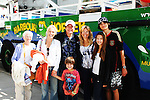 Guiding Light's Beth Chamberlin with her mom and son Luke and Frank Dicopoulos with his wife Teja and son Jaden and daughter Olivia are on their way to go Whale Watching (boat photo soon) - Day 4 - August 3, 2010 - So Long Springfield at Sea - A day in port in Halifax, Nova Scotia, Canada from the Carnival's Glory (Photos by Sue Coflin/Max Photos)