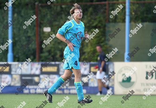 2009-08-06 / Voetbal / seizoen 2009-2010 / KFCO Wilrijk / Ken Beyens..Foto: Maarten Straetemans (SMB)