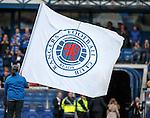 Flag wavers at Ibrox