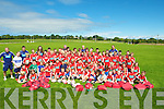RUGBY SCHOOL: Finishing up their Munster Rugby School Training on Thursday at Tralee Rugby Club werer children from all over Kerry...