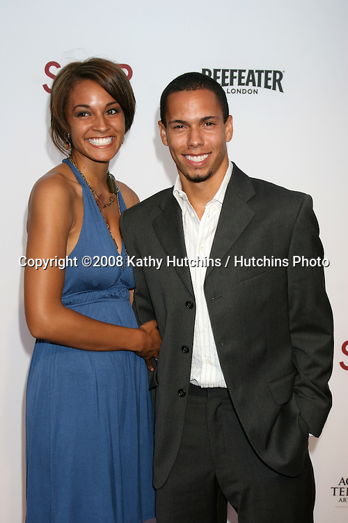 "Bryton McClure & Girlfriend arriving at the SoapNet ""Night Before Party"" for the nominees of the 2008 Daytime Emmy Awards at Crimson & Opera in Hollywood, CA.June 19, 2008.©2008 Kathy Hutchins / Hutchins Photo ."