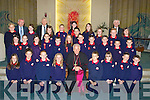 Listellick National School 5th & 6th Class who were confirmed on Friday morning in Our Lady & St Brendan's Church, Tralee on Friday by the Bishop of Kerry Bill Murphy................................... ....