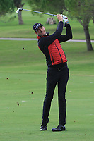 Sebastien Heisele (GER) on the 12th fairway during the Pro-Am of the Challenge Tour Grand Final 2019 at Club de Golf Alcanada, Port d'Alcúdia, Mallorca, Spain on Wednesday 6th November 2019.<br /> Picture:  Thos Caffrey / Golffile<br /> <br /> All photo usage must carry mandatory copyright credit (© Golffile | Thos Caffrey)