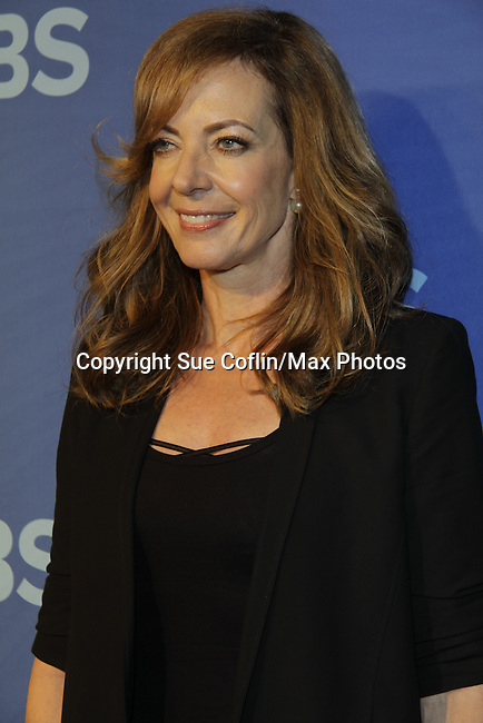 Guiding Light's Allison Janney stars in Mom - CBS Prime Time Upfronts 2014-2015 on May 14, 2014 at Lincoln Center, New York City, New York (Photo by Sue Coflin/Max Photos)