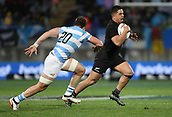 9th September 2017, Yarrow Stadium, New Plymouth. New Zealand; Supersport Rugby Championship, New Zealand versus Argentina; New Zealands Anton Lienert-Brown