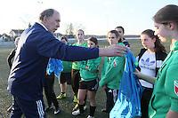 12.03.2015: DFB-Mentoring bei der TSG Worfelden