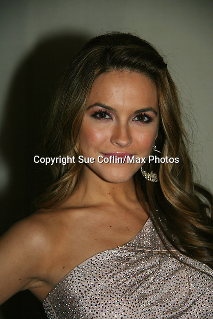 All My Children's Chrishell Stause at Marcia Tovsky's Holiday/Bon Voyage Party for AMC on December 1, 2009 at Nikki Midtown, New York City, New York. (Photo by Sue Coflin/Max Photos)