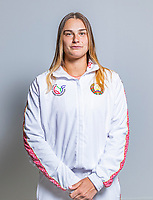 The Hague, The Netherlands, Februari 6, 2020,    Sportcampus, FedCup  Netherlands -  Balarus, Aryna Sabalenka (BLR)<br /> Photo: Tennisimages/Henk Koster