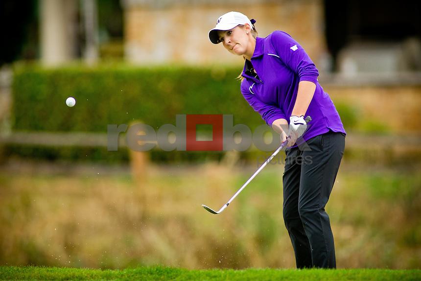 Darcie Richmond - UW women's golf. Photo by Rob Sumner / Red Box Pictures.