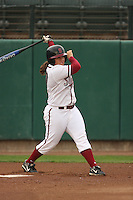 29 October 2007: Brittany Minder during practice at the Boyd and Jill Smith Stadium in Stanford, CA.
