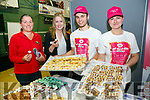 At the Tralee Enterprise Town,Community, Sport and Business Expo at Tralee Sports Complex on Friday were Ciara Fields, Charlene Doody, Arturas Plotmikovas and Rima Natevicvne from a Sweet Tale Bakery