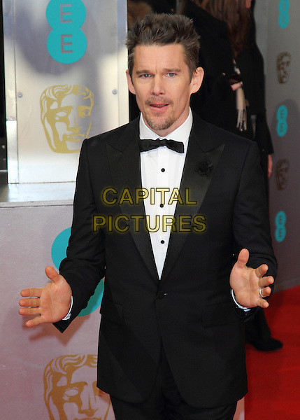 LONDON, ENGLAND - FEBRUARY 08: Ethan Hawke attends the EE British Academy Film Awards at The Royal Opera House on February 8, 2015 in London, England<br /> CAP/ROS<br /> &copy;Steve Ross/Capital Pictures