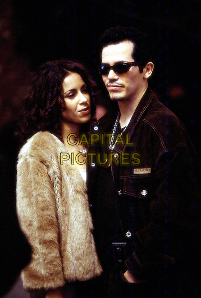 DELILAH COTTO & JOHN LEGUIZAMO .in Empire.Ref: FB.*Editorial Use Only*.www.capitalpictures.com.sales@capitalpictures.com.Supplied by Capital Pictures.