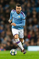 Nicolas Otamendi of Manchester City during the UEFA Champions League Group C match between Manchester City and Shakhtar Donetsk at the Etihad Stadium on November 26th 2019 in Manchester, England. (Photo by Daniel Chesterton/phcimages.com)