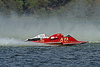 "Scott Liddycoat, A-73 ""CP Racing"" and Tom Thompson, A-52 ""Fat Chance Too"" (2.5 MOD class hydroplane(s)"