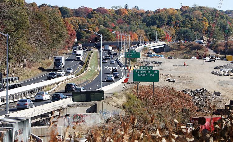 WATERBURY CT. 23 October 2015-102315SV32-I 84 rebuild video project.<br /> Steven Valenti Republican-American