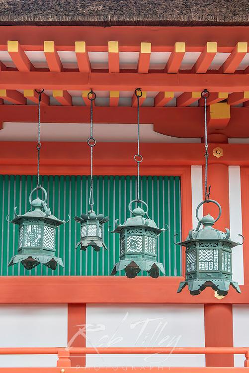 Japan, Nara, Kasuga Shrine Lanterns
