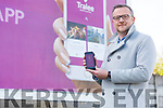 Ken Tobin Chairman of the Tralee Chamber Alliance launching their new phone app in Manor West on Tuesday
