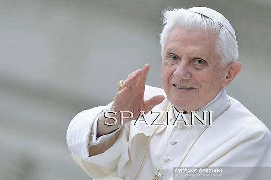 Pope Benedict XVI during his weekly general audience in St. Peter square at the Vatican, Wednesday. 8 June, 2011