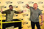 "Americans Actors Kevin Hart and Dwayne Johnson during the presentation of the film ""Un espia y medio"" at Hotel Villa Magna in Madrid. June 07. 2016. (ALTERPHOTOS/Borja B.Hojas)"