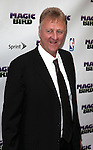 "Larry Bird pictured at the ""Magic/Bird"" Opening Night Arrivals at the Longacre Theatre in New York City on April 11, 2012 © Walter McBride / WM Photography  Ltd."