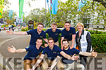 Rose escorts in waiting for 2019 in the Town Park at the Féile na mBláth on Sunday  <br /> Kneeling l to r: Jamie Flannery, Luke O'Sullivan and Alan Chawke.<br /> Back l to r: David Brosnan, Paul Clabby, Conor Hoolin and Pat Turner.
