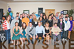 21ST BASH: Robbie Hurley, Tonevane, Blennerville (seated 3rd left) had a blast celebrating his 21st birthday last Saturday night in the Kerin's O'Rahilly's GAA clubhouse, Tralee with many friends and family, with a special mention for his grandmom, Bridget Cronin who travelled from Ballinskellig's with Bernie Cronin and Mike Walsh for the occasion.