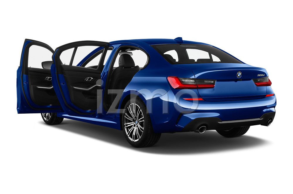 Car images of 2019 BMW 3-Series M-Sport 4 Door Sedan Doors
