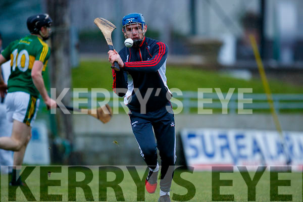 Kerry  in action against Patrick Collins Cork in the Co-op Superstores Munster Senior Hurling League on Sunday 14th January in Austin Stack Park, Tralee.