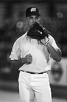 Raul Ibanez of the Seattle Mariners at Phoenix Municipal Stadium in Phoenix,Arizona during the 1996 Arizona Fall League season. (Larry Goren/Four Seam Images)