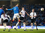 Bilel Mohsni scores the opening goal for Rangers