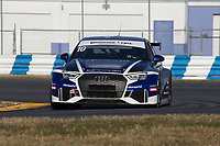 IMSA Continental Tire SportsCar Challenge<br /> December Test<br /> Daytona International Speedway<br /> Daytona Beach, FL USA<br /> Wednesday, 06 December, 2017<br /> 10, Audi, Audi RS3 LMS TCR, TCR, Lee Carpentier, Kieron O'Rourke<br /> World Copyright: Brian Cleary<br /> LAT Images