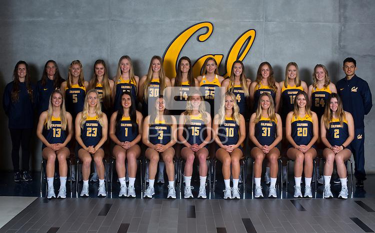 Berkeley, CA - January 20, 2017: Headshots and portraits of the Cal Women's Beach Volleyball team for the 2016-2017 season.