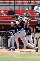 Taylor Featherston - 2009 Texas Christian Horned Frogs playing against the San Diego State Aztecs at Tony Gwynn Stadium, San Diego, CA - 04/25/2009 .Photo by:  Bill Mitchell/Four Seam Images