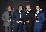 Paul Massey, David Giammarco, Donald Sylvester, Steve A. Morrow 111 arrives at the 23rd Annual Hollywood Film Awards at The Beverly Hilton Hotel on November 03, 2019 in Beverly Hills, California
