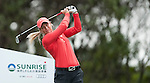 TAOYUAN, TAIWAN - OCTOBER 28:  Suzann Pettersen tees off on the 4th hole during the day four of the Sunrise LPGA Taiwan Championship at the Sunrise Golf Course on October 28, 2012 in Taoyuan, Taiwan.  Photo by Victor Fraile / The Power of Sport Images
