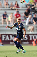 Cary, North Carolina  - Sunday May 21, 2017: Jaelene Hinkle during a regular season National Women's Soccer League (NWSL) match between the North Carolina Courage and the Chicago Red Stars at Sahlen's Stadium at WakeMed Soccer Park. Chicago won the game 3-1.