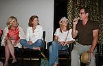 Tina Sloan, Liz Keifer, Mandy Bruno and Robert Bogue - Actors and fans have fun - Day 3 - August 2, 2010 - So Long Springfield at Sea - Carnival's Glory (Photos by Sue Coflin/Max Photos)