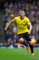 Watford's Richarlison <br /> <br /> Photographer Craig Mercer/CameraSport<br /> <br /> The Premier League - Sunday 11th March 2018 - Arsenal v Watford - The Emirates - London<br /> <br /> World Copyright &copy; 2018 CameraSport. All rights reserved. 43 Linden Ave. Countesthorpe. Leicester. England. LE8 5PG - Tel: +44 (0) 116 277 4147 - admin@camerasport.com - www.camerasport.com