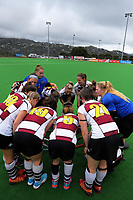 Action from the National Senior Women's Hockey Tournament semifinal match between North Harbour and Waikato at National Hockey Stadium in Wellington, New Zealand on Friday, 22 October 2017. Photo: Dave Lintott / lintottphoto.co.nz