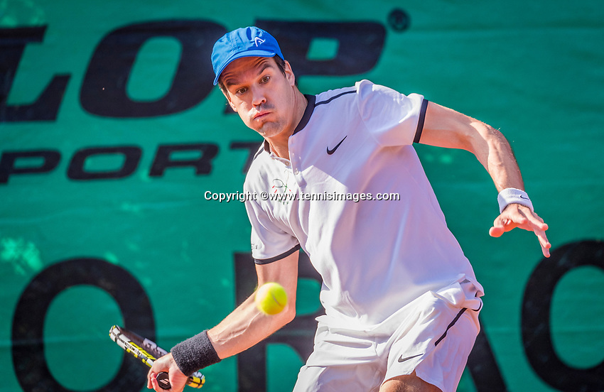 Hilversum, The Netherlands, September 2, 2018,  Tulip Tennis Center, NKS, Final men 35+ , Rutger-Jan Lange (NED)<br />