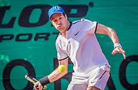 Hilversum, The Netherlands, September 2, 2018,  Tulip Tennis Center, NKS, Final men 35+ , Rutger-Jan Lange (NED)<br /> Photo: Tennisimages/Henk Koster