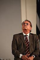 SAO PAULO, 08 DE AGOSTO DE 2012. POSSE DE 200 NOVOS DELEGADOS.  O secretario de segurança de sp, Antonio Ferreira Pinto, durante a cerimônia de posse de 200 novos delegados no Palacio dos Bandeirantes na manhã desta quarta feira. FOTO ADRIANA SPACA - BRAZIL PHOTO PRESS