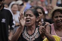 Comunidades atingidas pelos rejeitos de bauxita protestam na portaria principal da refinaria de alumina da Norsk Hydro em Barcarena<br />Barcarena, Par&aacute;, Brasil.<br />Foto Maycon Nunes
