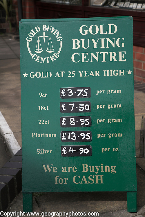 Gold Buying Centre, Woodbridge, Suffolk, England
