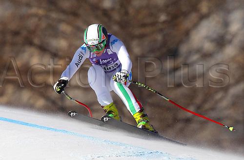13.01.2012 Cortina D Ampezzo, Italy. The Ski Alpine FIS World Cup Downhill Training for women Picture shows Johanna Schnarf ITA